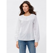Cotton Schiffli Top
